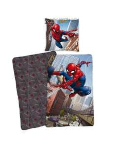 Funda nordica Spiderman Marvel cama 90cm algodon