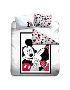 Funda nordica Mickey Minnie Disney cama 135cm algodon