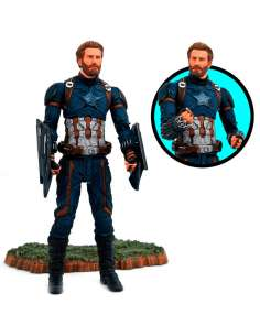 Figura articulada Capitan America Vengadores Avengers Marvel 18cm