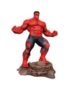 Figura diorama Red Hulk Marvel 25cm