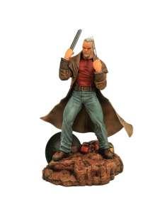 Figura Viejo Logan Marvel diorama