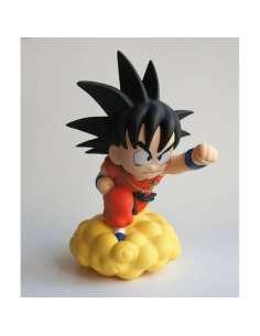 Figura hucha Son Goku Nube Kinton Dragon Ball 15cm
