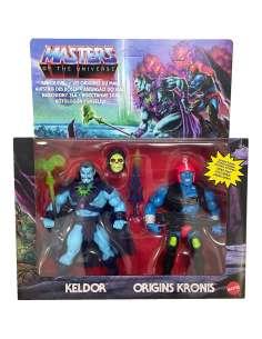 Pack 2 figuras Keldor and Kronis Rise of Evil Master of the Universe 14cm