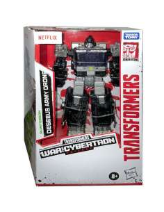 Figura Deseeus Army Drone War for Cybertron Transformers