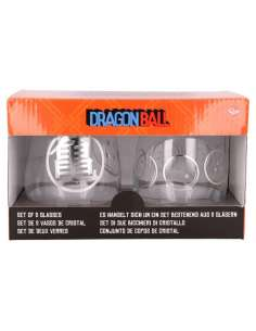 Set 2 vasos cristal Dragon Ball 510ml