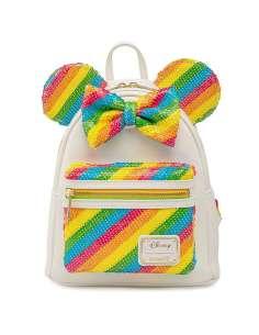 Mochila Rainbow Minnie Disney Loungefly 26cm