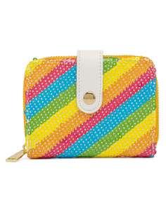 Cartera Rainbow Minnie Disney Loungefly