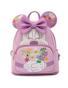 Mochila Holding Flowers Minnie Disney Loungefly 26cm