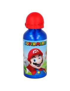 Botella aluminio Super Mario Bros Nintendo 400ml