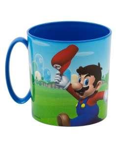 Taza Super Mario Bros Nintendo microondas