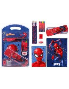 Set papeleria Spiderman Marvel