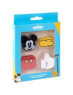 Pack 4 gomas de borrar Mickey Disney