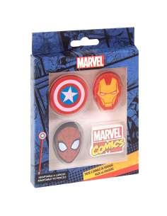 Pack 4 gomas de borrar Marvel