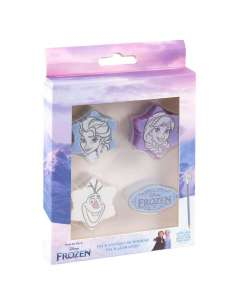 Pack 4 gomas de borrar Frozen 2 Disney