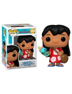 Figura POP Disney Lilo and Stitch Lilo with Scrump