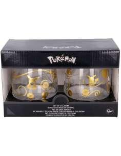 Set 2 vasos cristal Pokemon 510ml