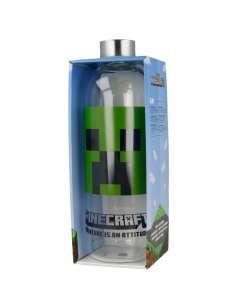 Botella cristal minecraft 1030ml