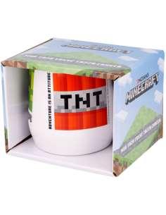 Taza ceramica Minecraft en caja 360ml