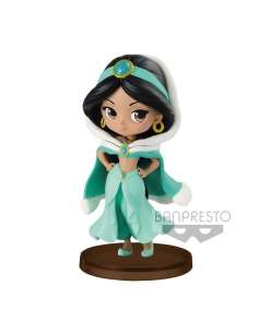 Figura Jasmine Winter Aladdin Disney Q Posket 7cm
