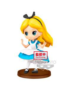 Figura Alice Alicia en el Pais de las Maravillas Disney Q Posket 7cm