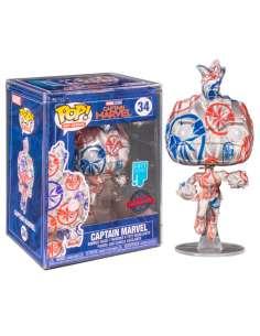 Figura POP Patriotic Age Captain Marvel Exclusive