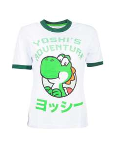 Camiseta mujer Yoshi Super Mario Nintendo