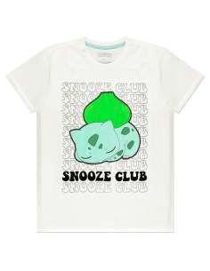 Camiseta Bulbasaur Snooze Club Pokemon