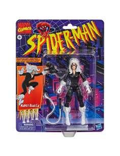 Figura Black Cat Spiderman Marvel 15cm
