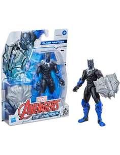 Figura Mech Strike Black Panther Avengers Marvel 15cm