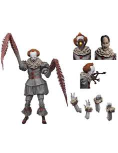 Figura Ultimate Pennywise The Dancing Clown IT 18cm