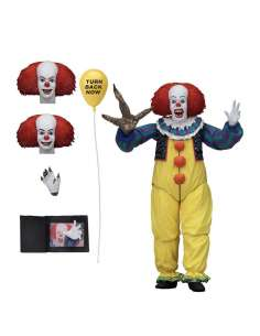 Figura Ultimate Pennywise 1990 Scale Action IT 18cm