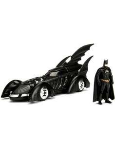 Set figura coche Batmovil metal Batman Forever DC Comics