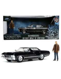 Set figura Dean Winchester coche Chevy Impala Sport Sedan Sobrenatural