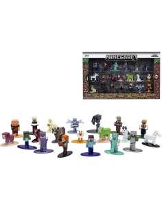 Set 20 figuras Minecraft 4cm