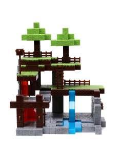 Set 2 figuras Mundo Minecraft