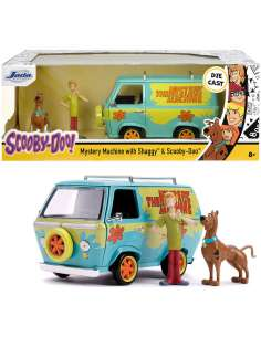 Set figuras Scooby Doo y Shaggy Furgoneta Mistery Machine Scooby Doo