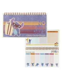 Planificador Semanal Stitch Disney
