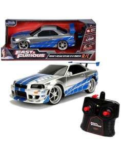 Coche radio control Nissan Skyline GT R 2002 Fast and Furious