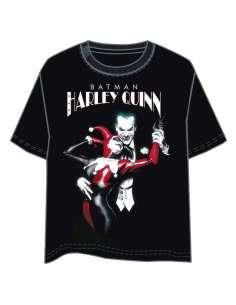 Camiseta Harley Quinn and Joker DC Comics adulto