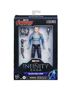 Figura Quicksilver The Infinity Saga Marvel Legends 15cm
