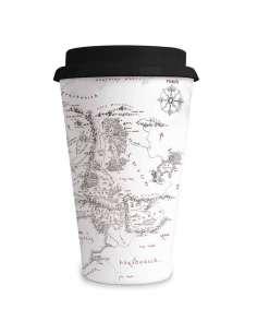 Taza viaje Mapa Tierra Media El Senor de los Anillos