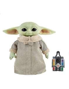 Peluche Baby Yoda control remoto The Mandalorian Star Wars 28cm