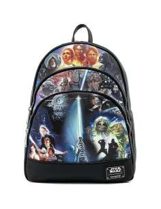 Mochila May The Force Star Wars Loungefly 34cm