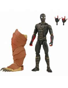 Figura Spiderman Black No Way Home Marvel Legends 15cm