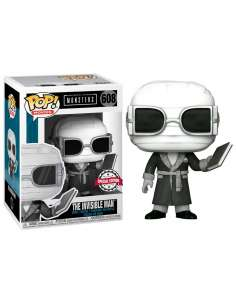Figura POP Universal Monsters Invisible Man Black and White Exclusive