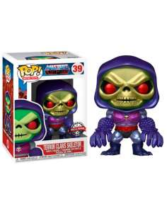 Figura POP Masters of the Universe Skeletor with Terror Claws Metallic Exclusive