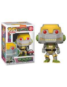 Figura POP Teenage Mutant Ninja Turtles Metalhead Exclusive