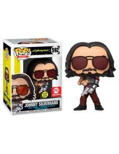 Figura POP Cyberpunk 2077 Johnny Silverhand with Gun Exclusive