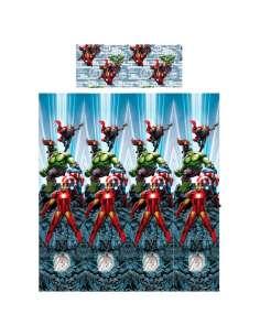 Juego sabanas Vengadores Avengers Marvel 105cm algodon