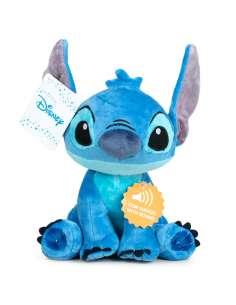 Peluche Stitch Disney soft sonido 30cm